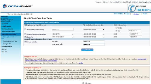 ocean-bank-01 Hướng dẫn thanh toán trực tuyến bằng thẻ nội địa OceanBank