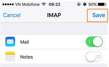 B8-1 Hướng dẫn tạo mail trên IOS