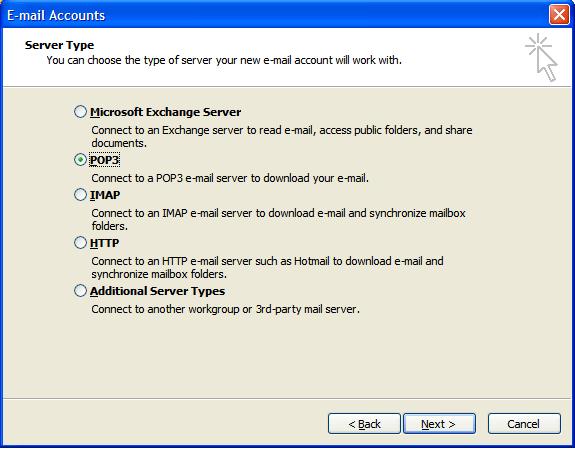 2k3_03 Hướng dẫn cấu hình Microsoft Outlook 2003