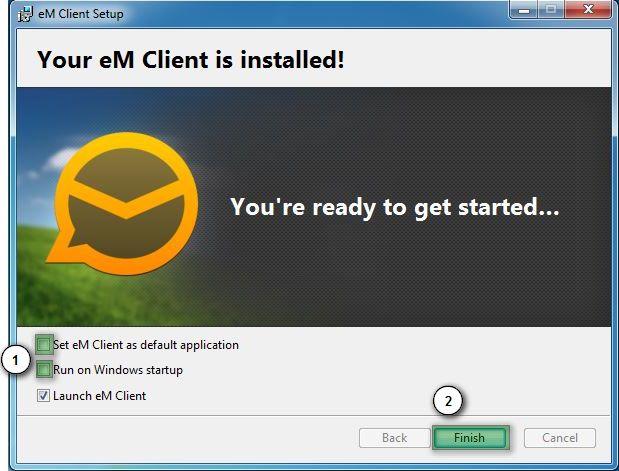 emc3 Hướng dẫn cấu hình email account trên eM Client