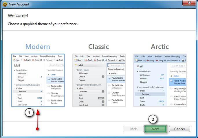 emc4 Hướng dẫn cấu hình email account trên eM Client
