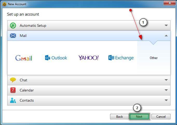 emc6 Hướng dẫn cấu hình email account trên eM Client