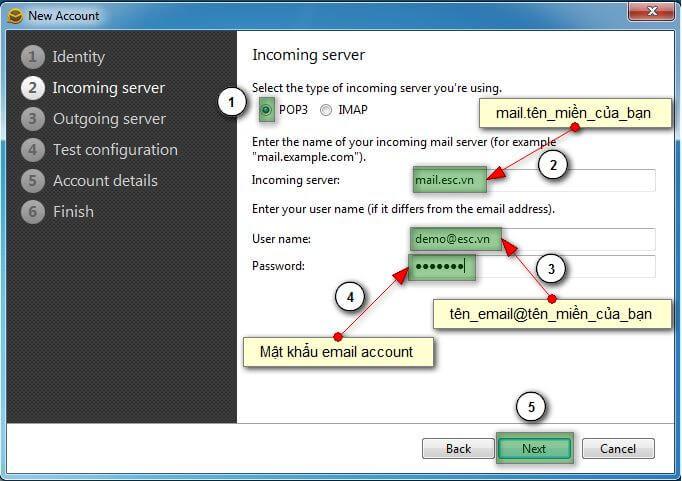 emc8 Hướng dẫn cấu hình email account trên eM Client