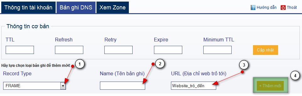 Frame Tương tự Redirect Url nhưng trên thanh địa chỉ sẽ không thay đổi tên miền của bạn