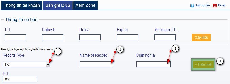 txt Hướng dẫn tạo record TXT để tăng độ tin cậy cho mail của bạn