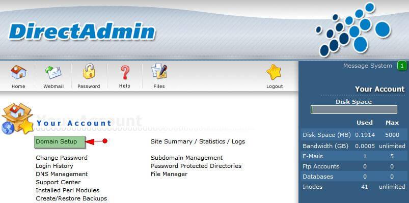 add_domain Hướng dẫn add thêm một domain khác vào hosting của bạn