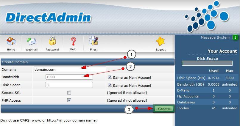 add_domain3 Hướng dẫn add thêm một domain khác vào hosting của bạn
