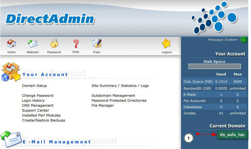 add_domain6 Hướng dẫn add thêm một domain khác vào hosting của bạn