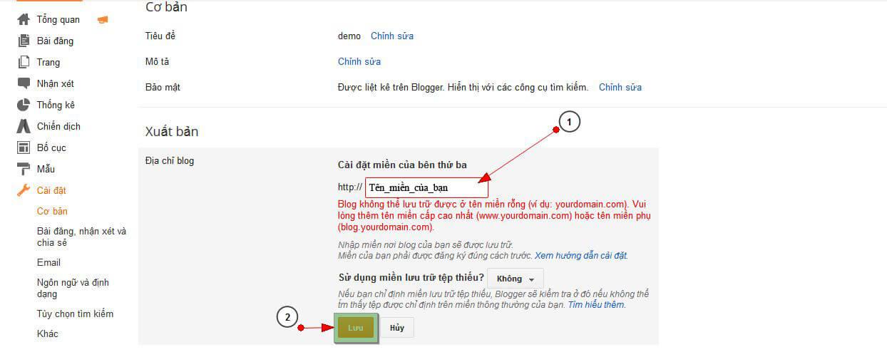 bloger2 Hướng dẫn trỏ tên miền đến blog của bạn