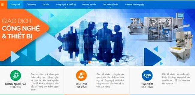 Cổng thông tin giao dịch công nghệ TP.HCM.