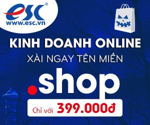 Tên miền .shop – Khẳng định đẳng cấp Doanh Nghiệp chỉ với 399k