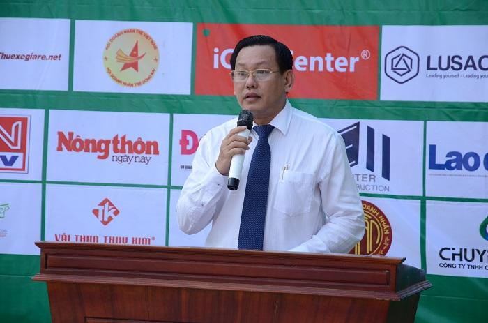 Ông Đặng Minh Đức – Giám đốc Sở TN&MT tỉnh Đồng Nai phát biểu chỉ đạo phong trào.