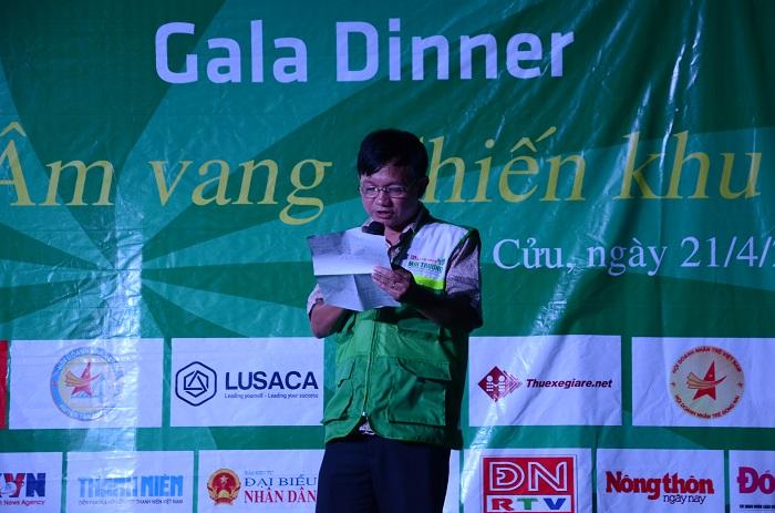 Ông Nguyễn Anh Tuấn tuyên bố khai mạc đêm Gala Dinner.