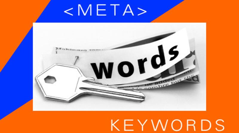 Meta keyword không được sử dụng trong thời đại mới
