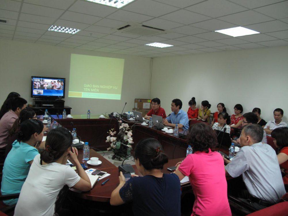 ESC tham gia hội nghị giao ban các nhà đăng ký tên miền .vn.